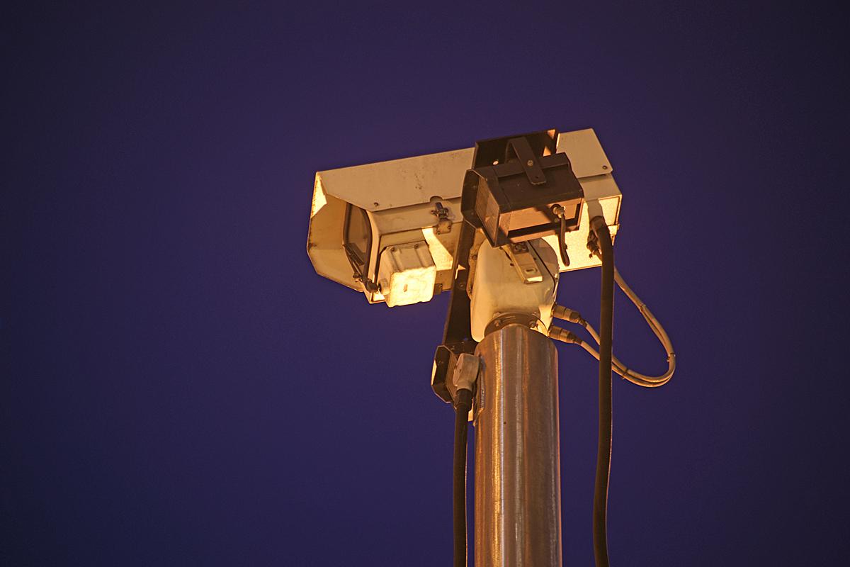 CCTV Camera   Ian Britton   CC   https://flic.kr/p/9F2CYe