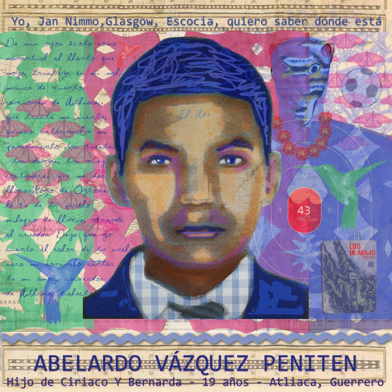 Abelardo Vazquez Peniten portrait by Jan Nimo