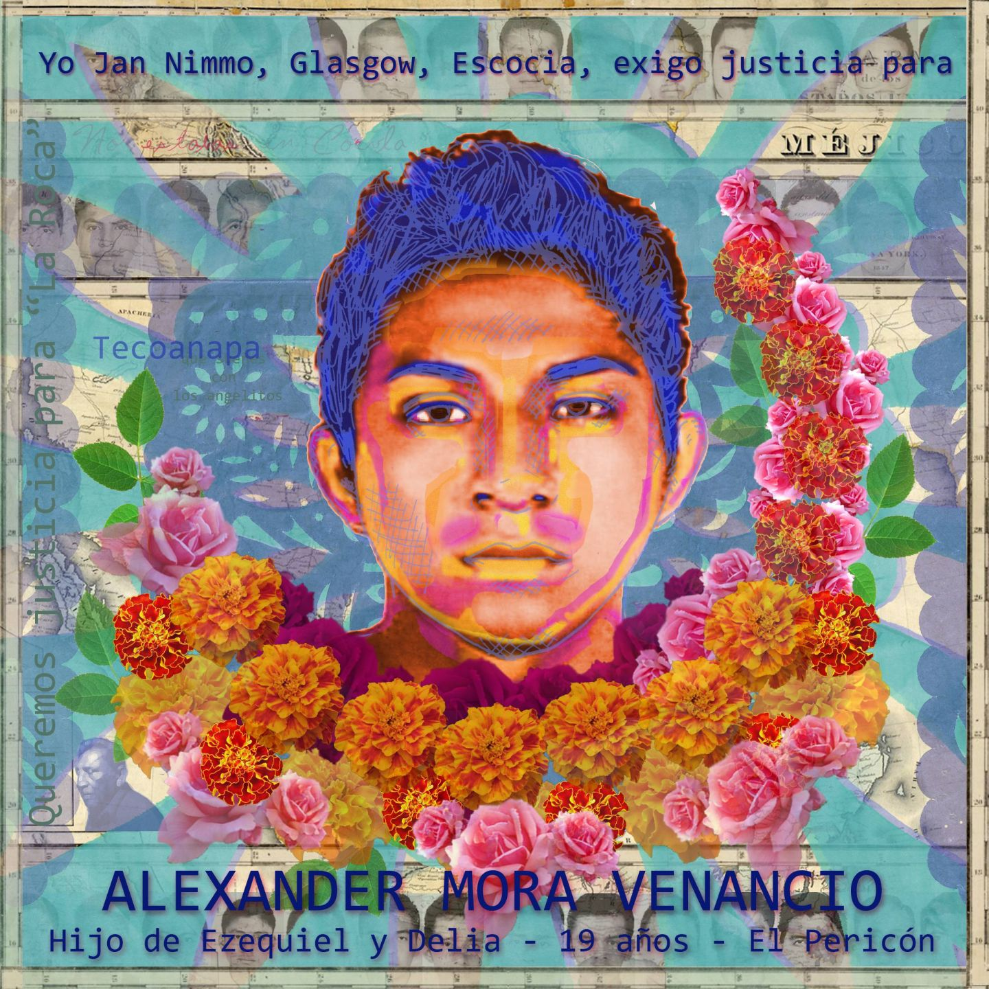 Portrait of Alexander Mora Venancio by Jan Nimo