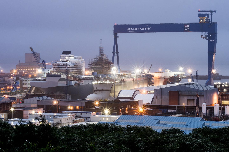 Rosyth Dockyard | Andrew Linnet | Crown Copyright