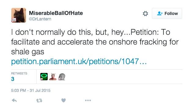 Petition-tweet