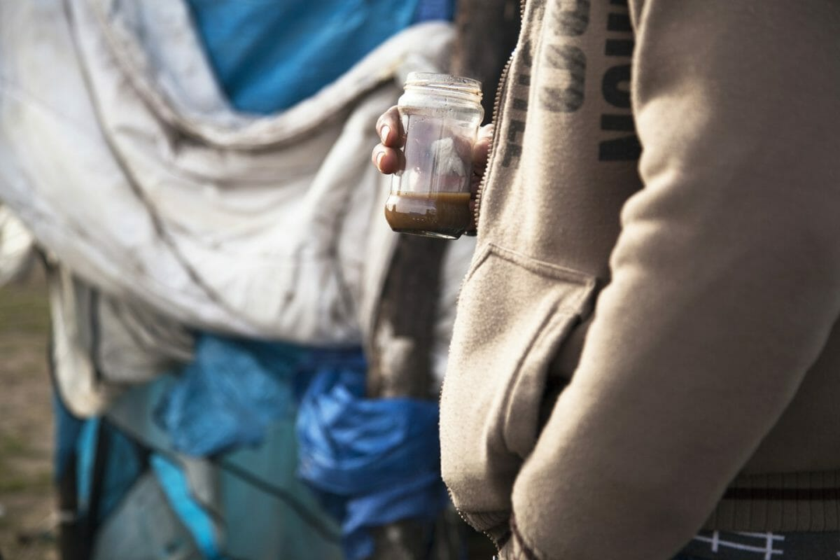 Calais: Coffee in the morning
