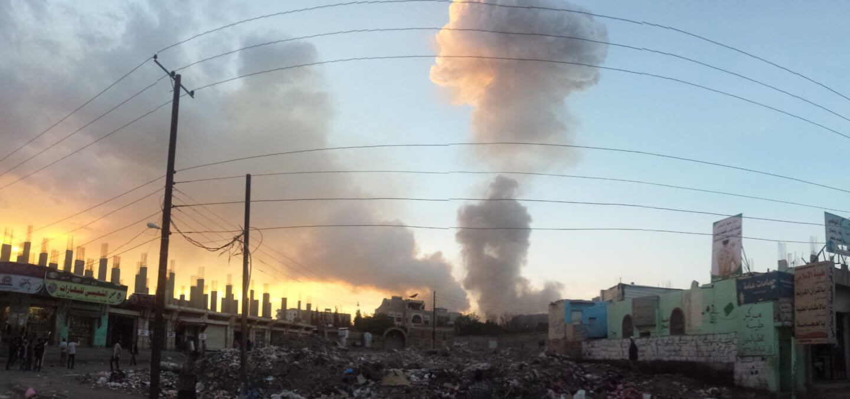 Air Strike in San'a | CC | Ibrahem Qasim | http://bit.ly/1U9qaMo