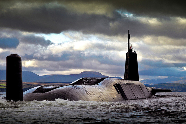 Westminster 'lied' on Trident independence 8