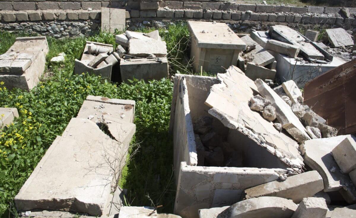 Batnaya cemetery, Iraq