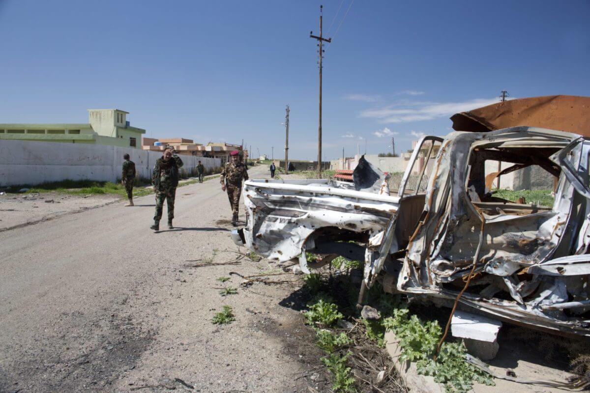 Wrecked Car, Batnaya, Iraq