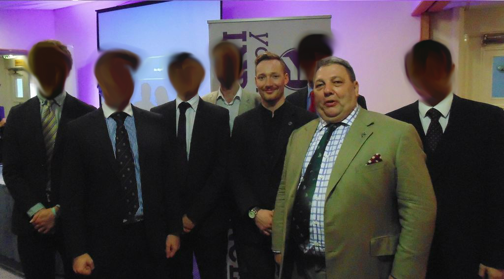 McKim with David Coburn UKIP MEP
