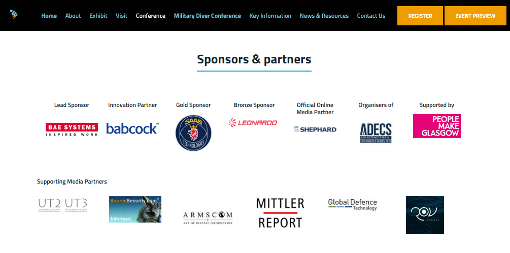 Glasgow-sponsorship-of-arms-fair