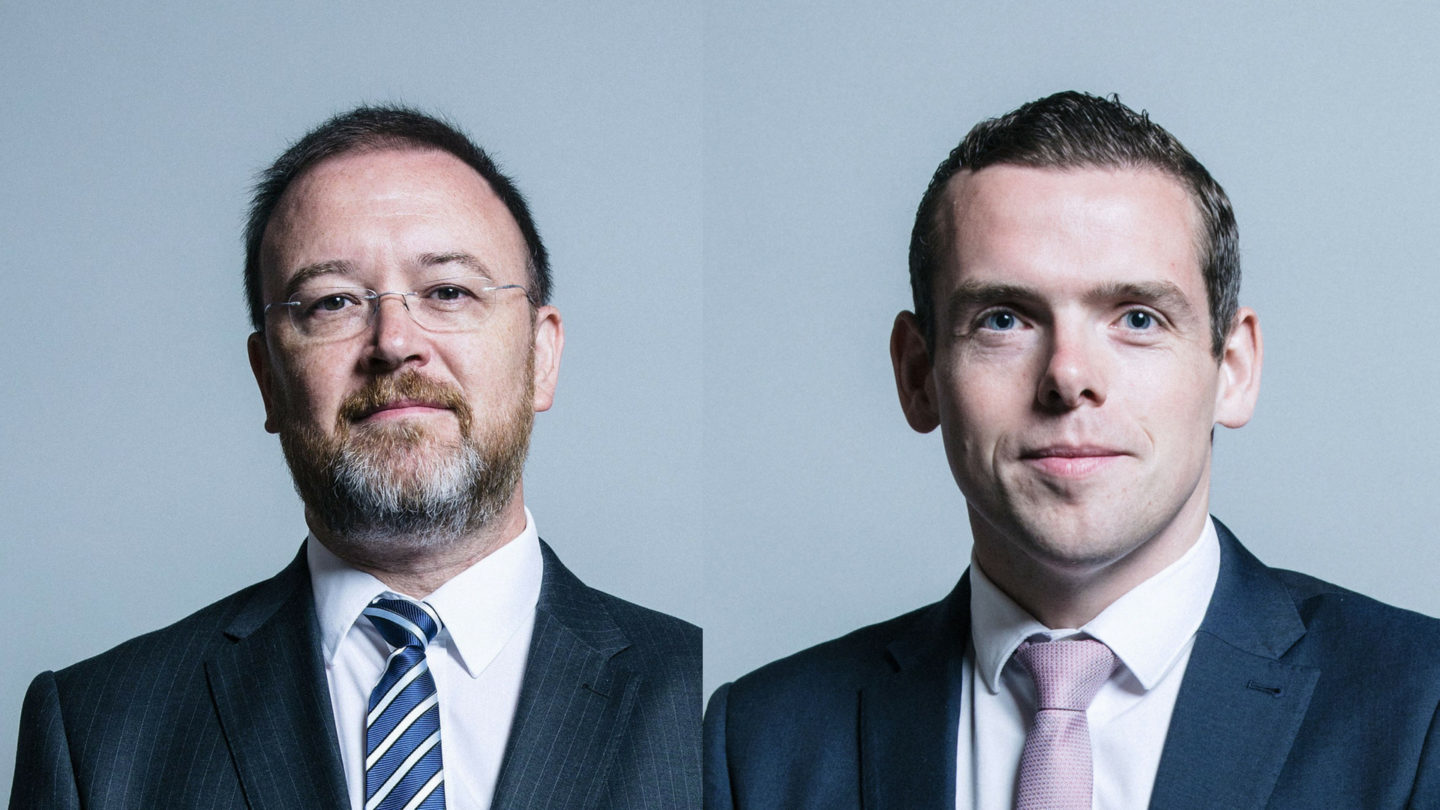 Douglas Ross MP and David Duguid MP