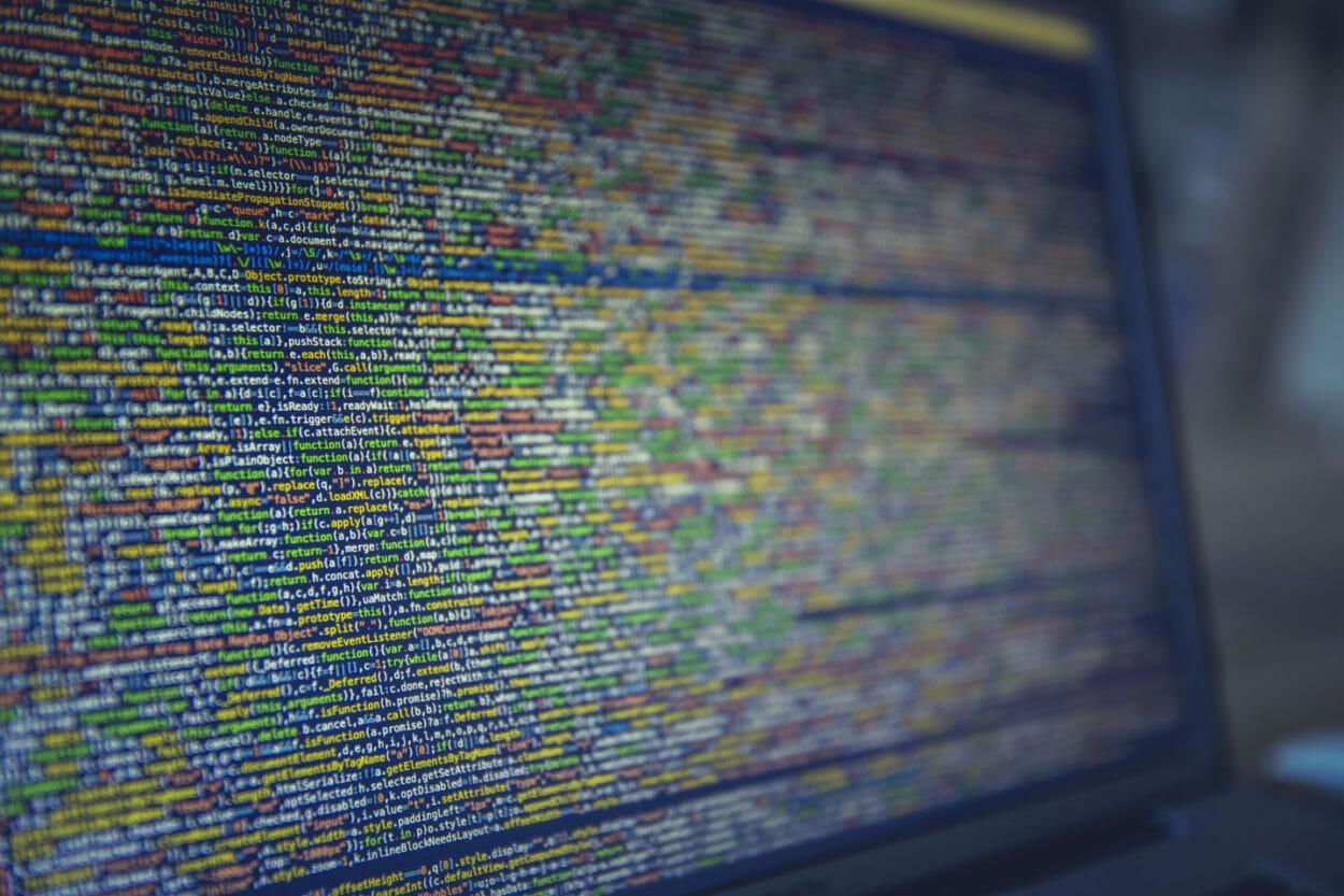 Hacked computer code