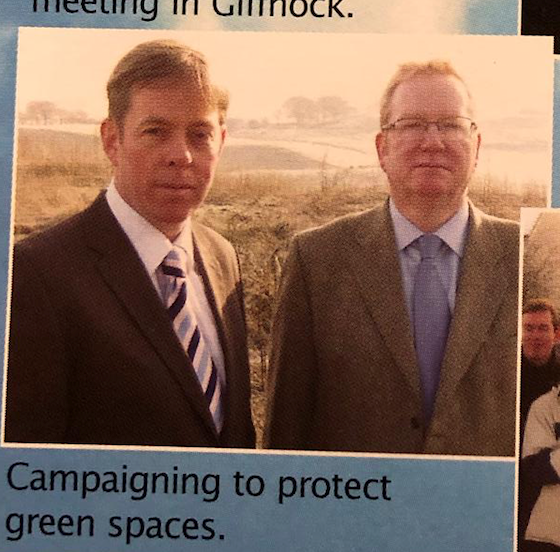 Richard Cook election leaflet