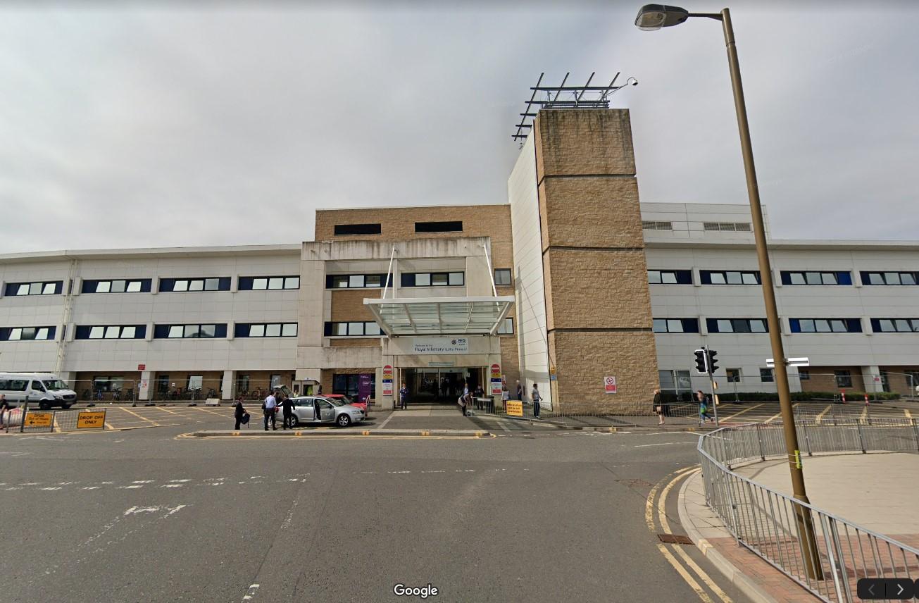 Edinburgh Royal Infirmary entrance