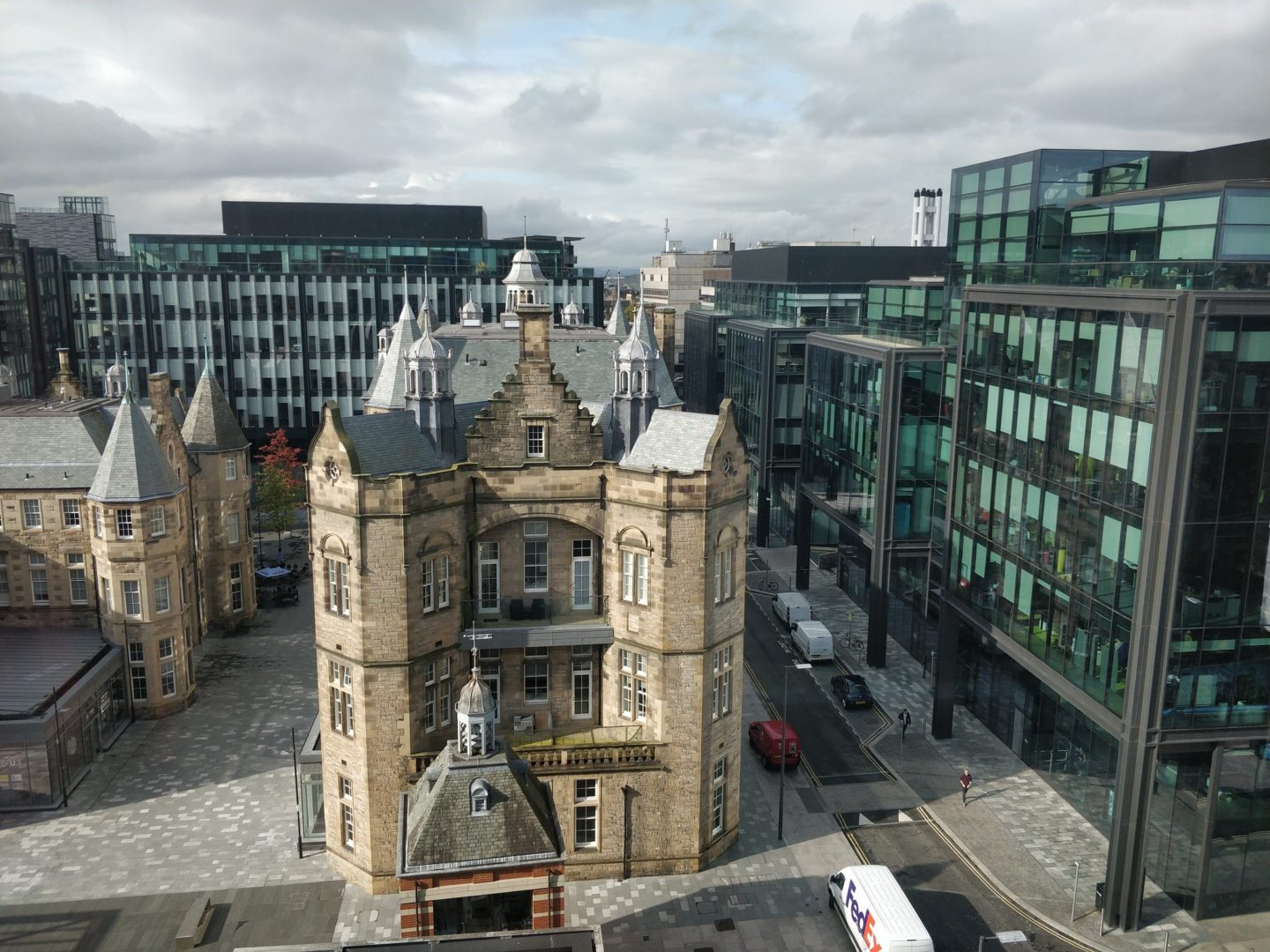 Quartermile in Edinburgh, home to many high value city jobs