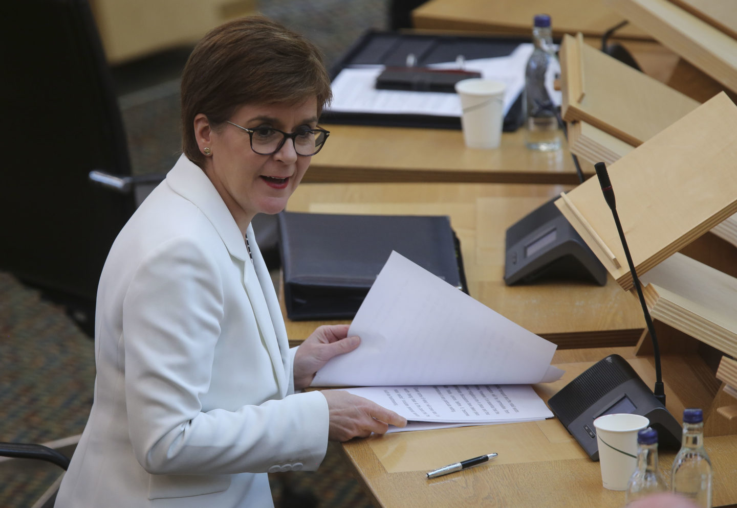 Nicola Sturgeon once in a generation