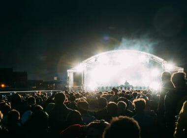 Electronic music festival Riverside