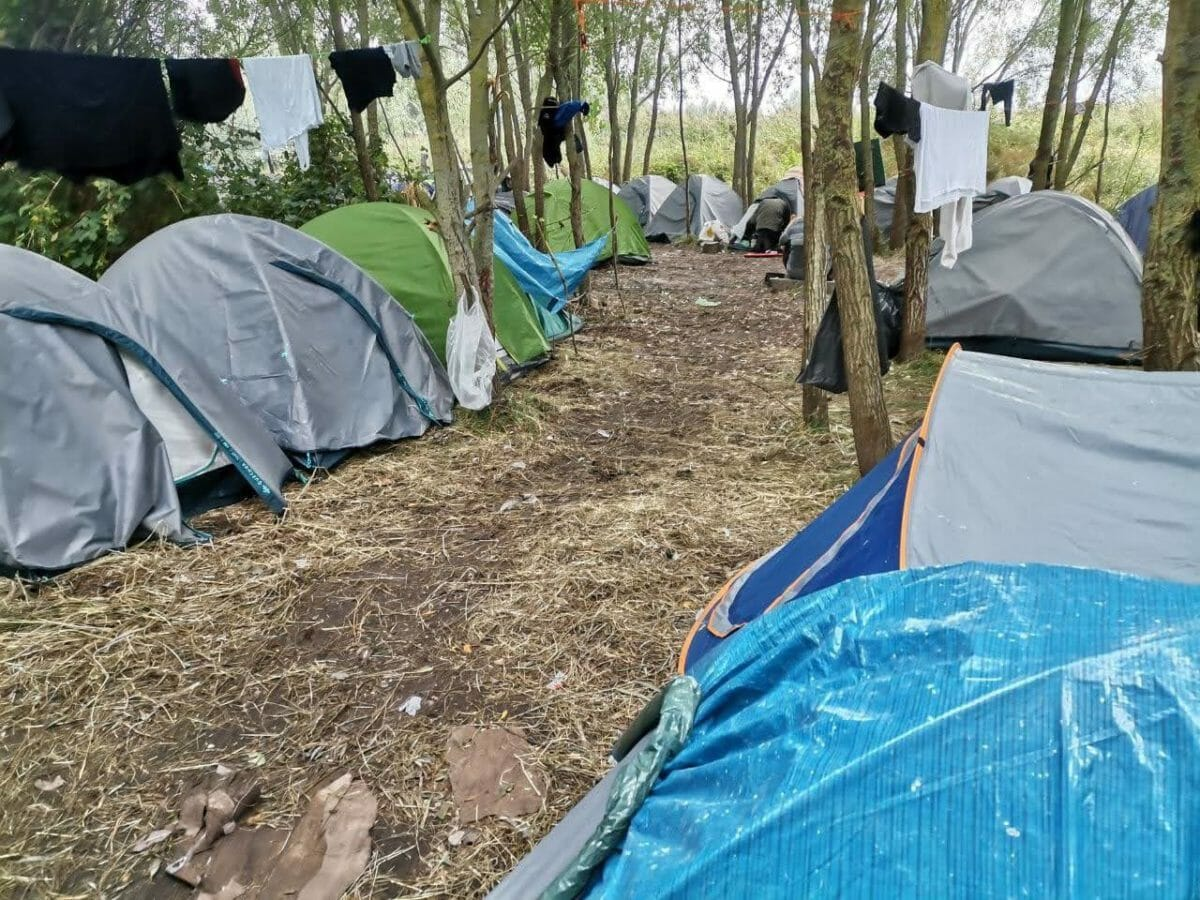 the jungle calais asylum