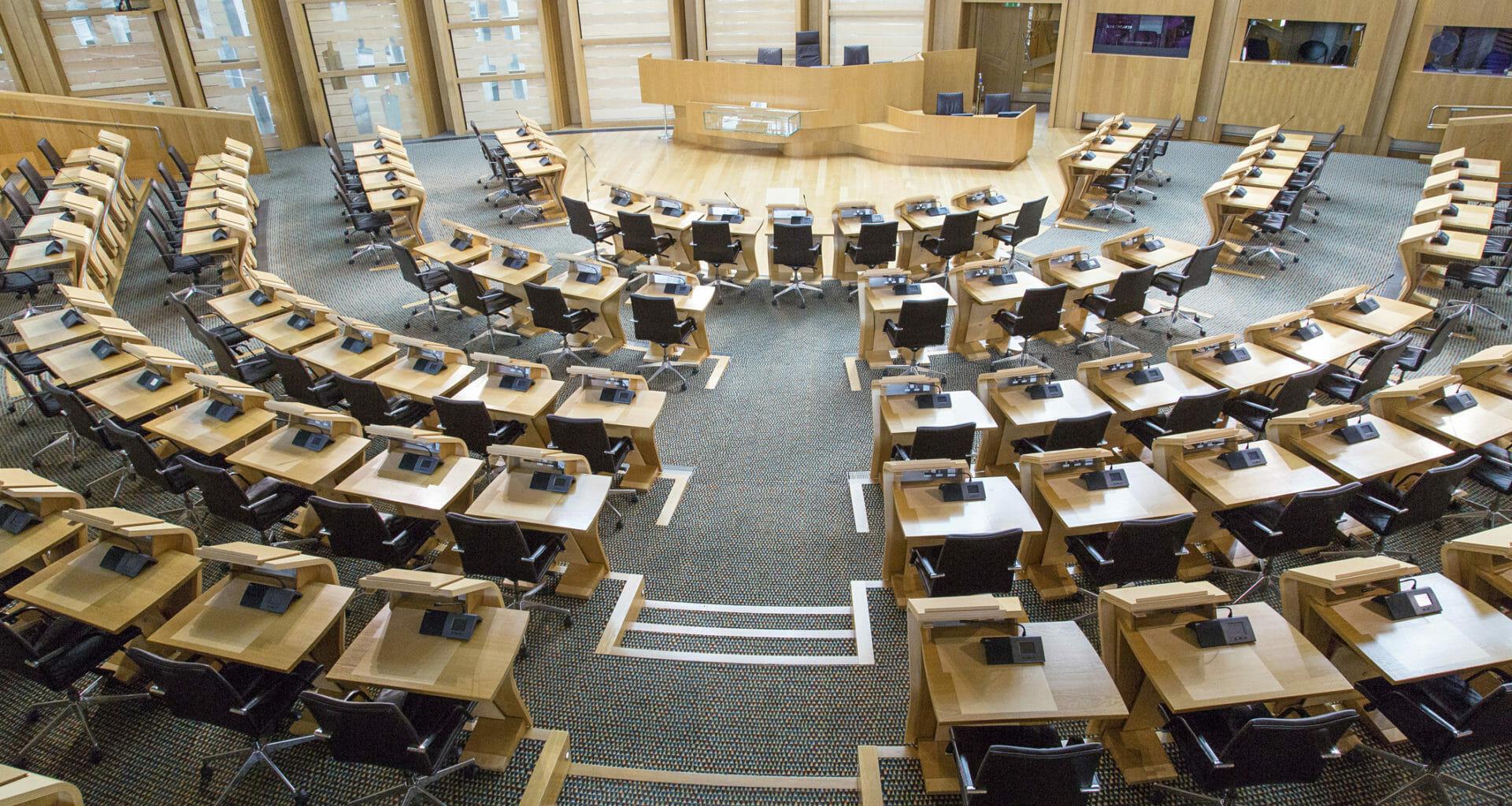 Scottish parliament leaders debate