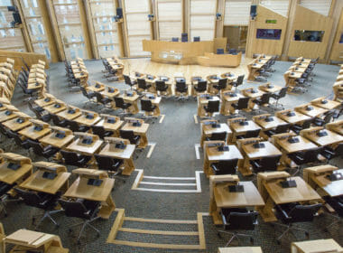 Scottish parliament leaders debate