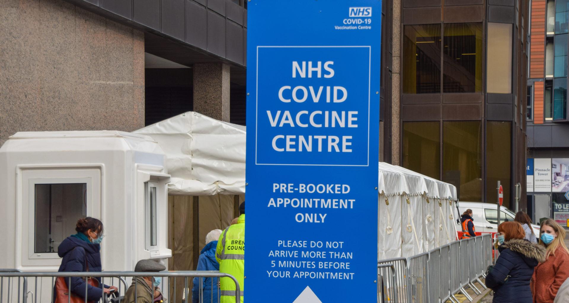 Covid-19 vaccine centre